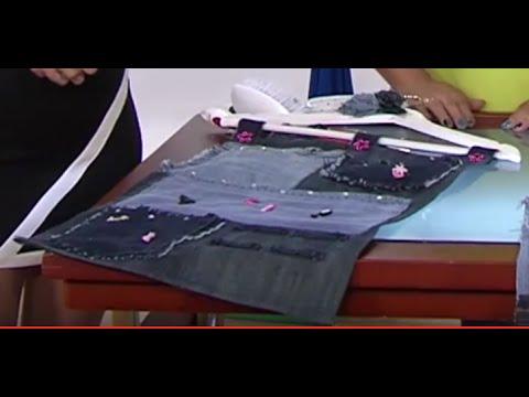 Como hacer un Bolsillero en jean- Hogar Tv  por Juan Gonzalo Angel