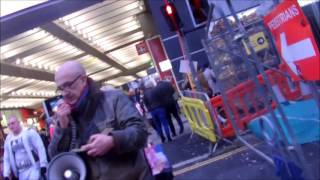 Steet Preacher in Manchester UK