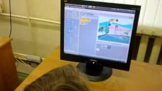 Первый урок Scratch в 5 классе - 2
