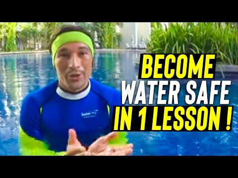 Learn to SWIM CONFIDENT in 1 lesson (Kids - Adults) Easy & simple way to teach to Become Water safe
