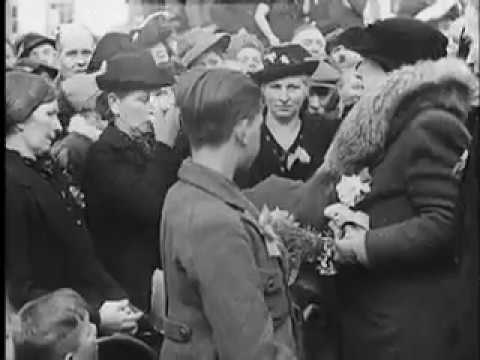 Queen Wilhelmina in Holland during WW2