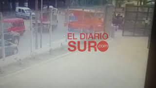 Video: Insólito hurto a un blindado, se llevaron $ 1 millón porque dejaron la puerta abierta