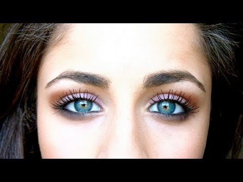 how to make blue green eyes pop youtube