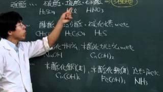 【化学基礎】酸塩基反応④~強酸、弱酸、強塩基、弱塩基~