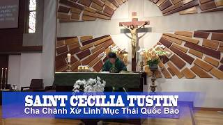 Reading Psalm Mass for Saturday, June 16, 2018  Saint Cecilia Catholic Tustin California