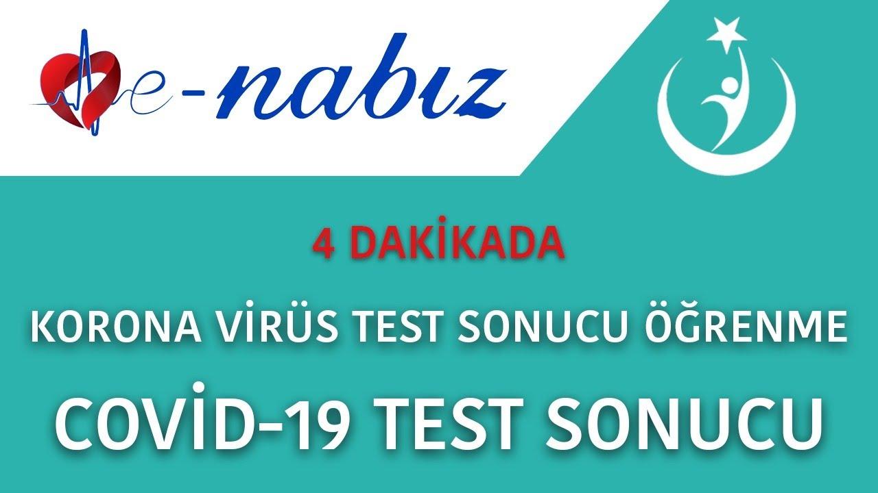 Online Koronavirüs Kontrol Testi Hizmete Açıldı