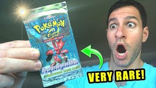 *VERY RARE VINTAGE POKEMON CARDS!* Opening AQUAPOLIS Booster Pack and TONS of Packs!