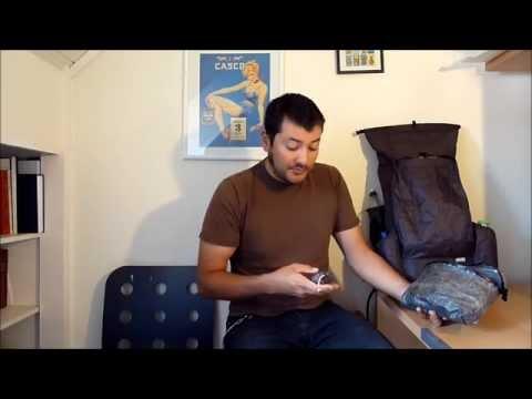 Cesar's Summer 2014 Ultralight Backpacking Gear List (3.3kg / 7.2lb BPW)