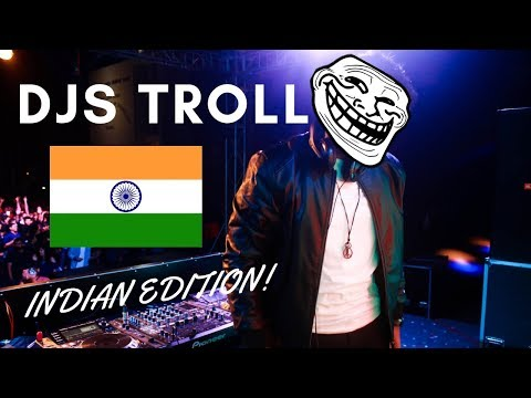 INDIAN DJ TROLLING THE CROWD | PARANOX