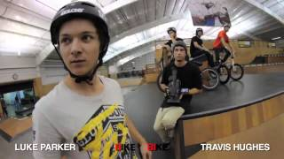 Vital BMX Game Of BIKE 2013 Luke Parker vs Travis Hughes