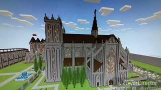 Minecraft Cathedral YouTube