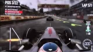 F1 2010 Codemasters (Spa Raining Race Exibition HD)