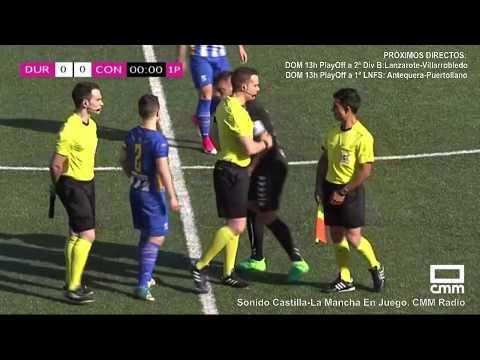 DIRECTO: CULTURAL DURANGO - UB CONQUENSE. Eliminatoria de Campeones. Castilla - La Mancha Media.