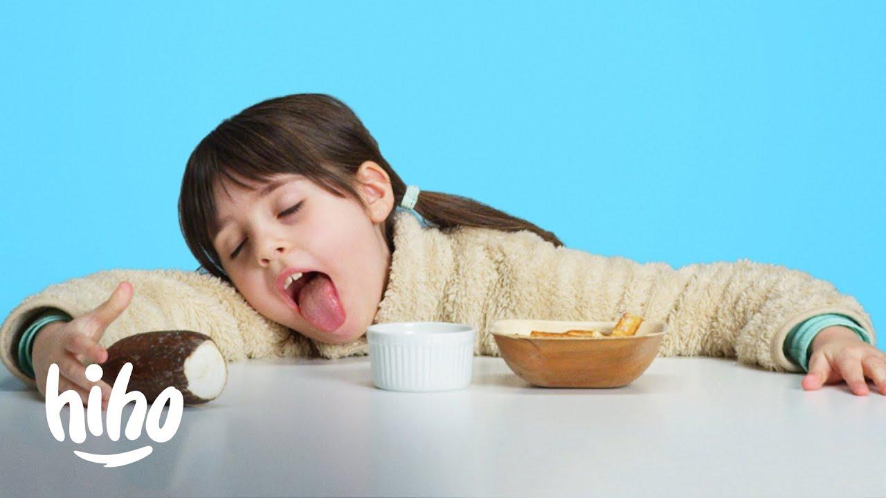 Kids Try Dangerous Foods! | Kids Try | HiHo Kids