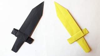 How to make a Paper Sword? (Origami)
