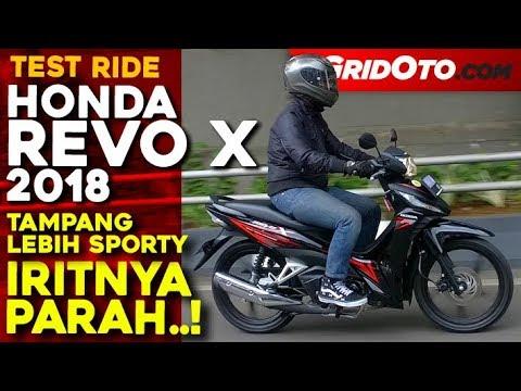 Honda Revo X 2018 Test Ride Review Gridoto Youtube