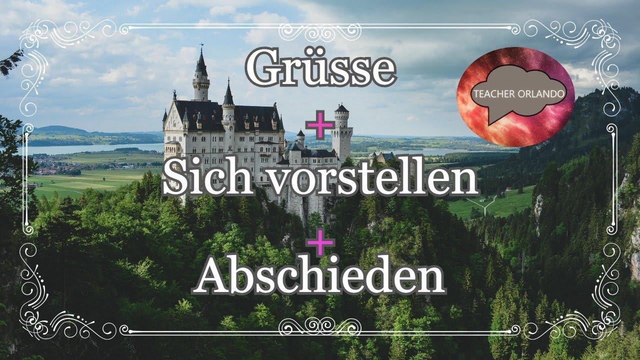 Saludos Deutsch