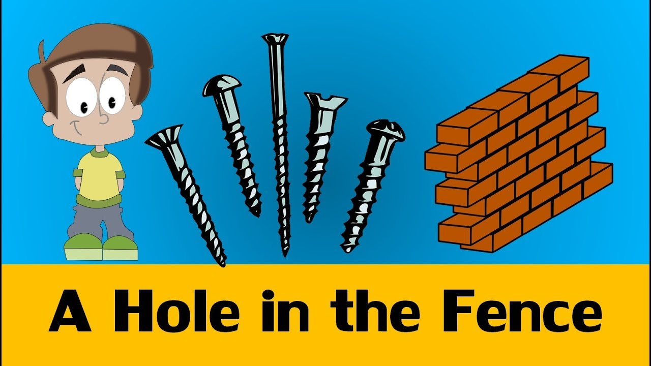 Holes In The Fence English Esl Worksheets For Distance Learning And Physical Classrooms