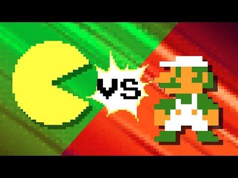 Pacman vs Luigi