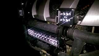 cree led light bar 3 inch not 4 and a 14 inch on a yamaha rhino utv not a rzr or atv off road