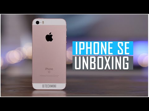 IPHONE SE UNBOXING & HAND ON -TAMIL