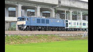 E131系R01+R02編成 新津出場