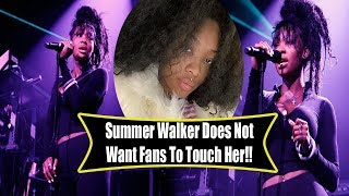 Summer Walker responds to fans being disappointed in her meet n greet