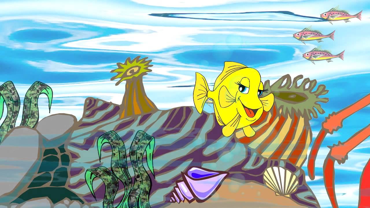 O Peixinho Amarelinho Video Infantil Desenho Para Criancas