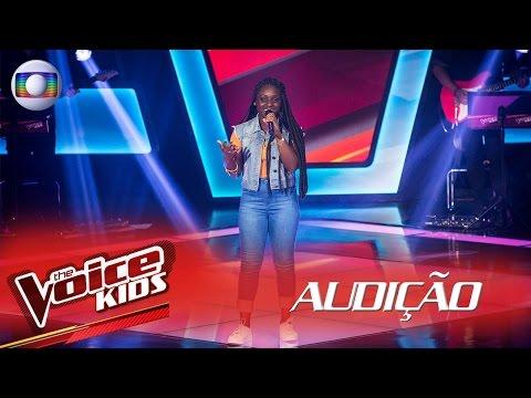 Letícia Corrêa canta 'Sozinho' na Audição – The Voice Kids Brasil | 2ª Temporada