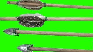 Como fazer flechas(processo artesanal).