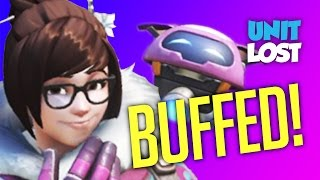 Overwatch News - Mei BUFFED! - Muwahahaha!