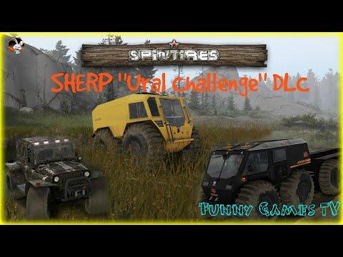 "SPINTIRES ● SHERP ""Ural Challenge"" ● БИТВА БОЛОТО ХОДОВ |"