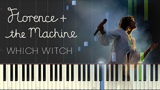 Florence + The Machine - Which Witch (Piano Sheet Music + Instrumental)