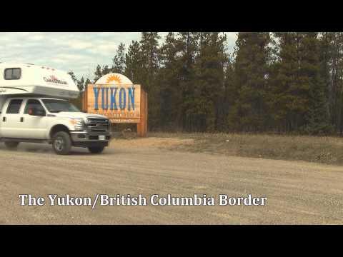 Crossing the Yukon, Canada Border