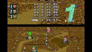 Seijin Plays : Super Mario Kart, Part 3   100cc Star Cup