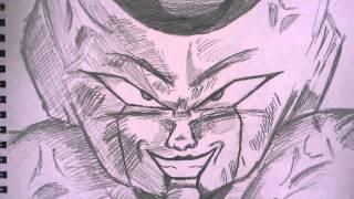 タイトル通り中尾隆聖さんの声優でお馴染みフリーザを描いてみました!...