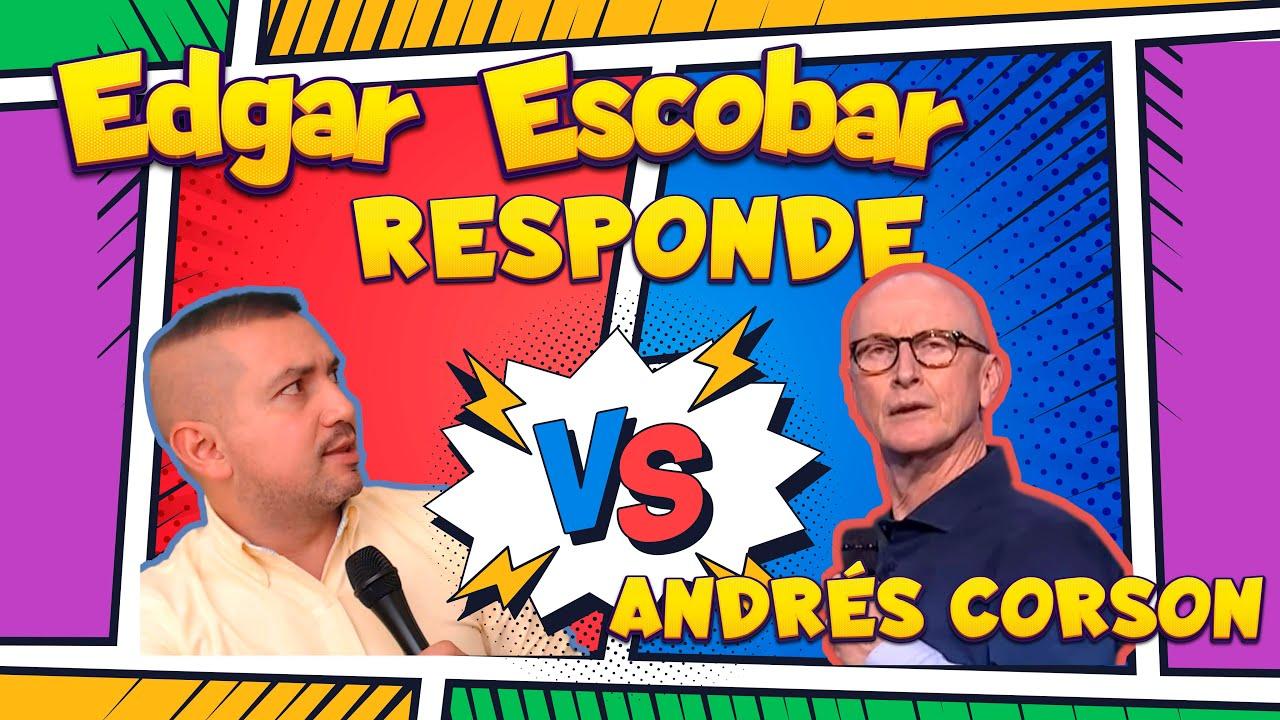 #edgaredcobar #biblialibre ANDRÉS CORSON NOS ACUSA EN PREDICA EL LUGAR DE SU PRESENCIA