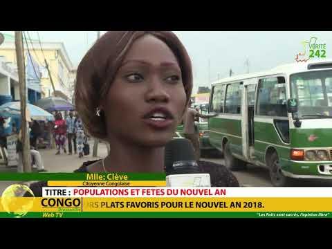 VÉRITÉ 242 CONGO Brazzaville, Population et fête du nouvel an.