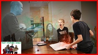 We Made Our Parents DiSAPPEAR! Magic Spell Book Episode 3 / That YouTub3 Family I Family Channel thumbnail