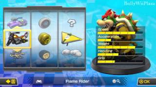 [Mario Kart 8] All Vehicles, Tires & Gliders