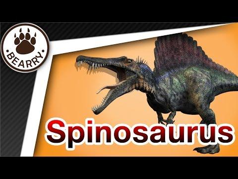 Spinosaurus สไปโนซอรัส ไดโนเสาร์กินเนื้อที่ใหญ่ที่สุดในโลก  | สัตว์ดึกดำบรรพ์