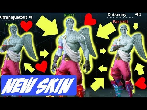 top 1 with new skin cupidon fortnite battle royale fr - fortnite cupidon