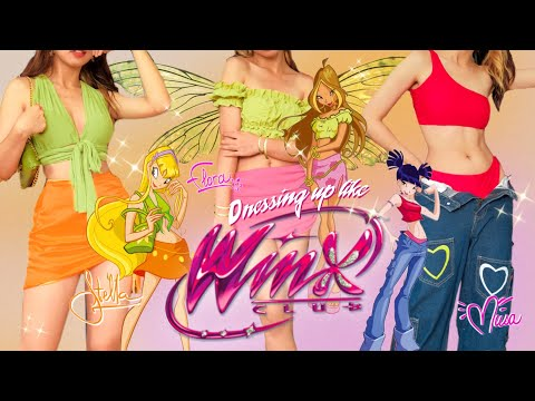 Recreating Winx Club Outfits *accurately* ft. Zaful | Dressing like Ep. 2