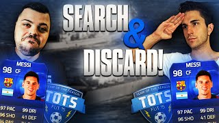 CI GIOCHIAMO MESSI TOTY! - SEARCH AND DISCARD