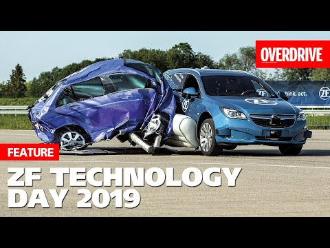 ZF shows Side Impact Airbag, Intelligent Chassis & other tech | OVERDRIVE
