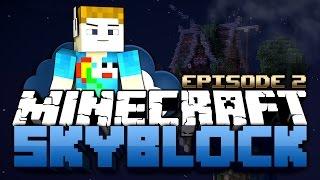 Minecraft: Sky Block MADNESS | DIAMOND RAIN?! #2