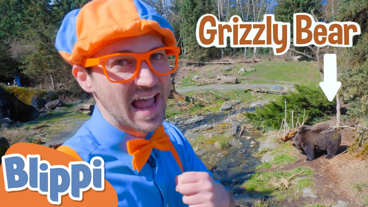 Blippi Feeds Animals at the Zoo! | Learn About Animals For Kids | Educational Videos For Toddlers