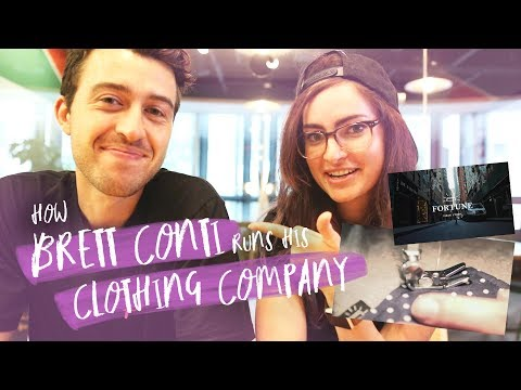 Running a clothing company at 24! | Interview with Brett Conti