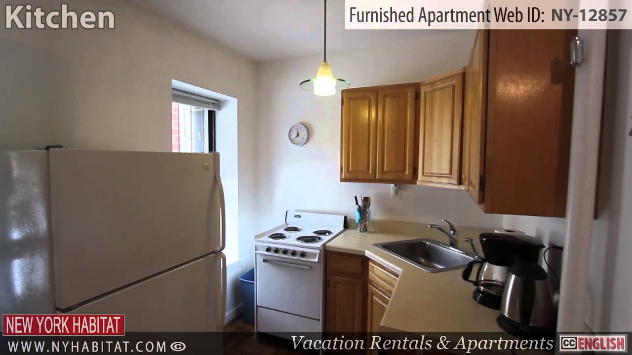 video tour of a furnished 1 bedroom apartment in east harlem