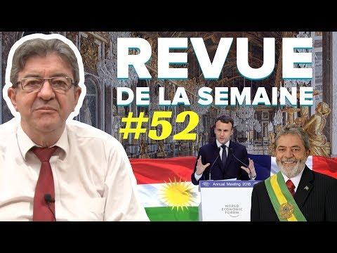 #RDLS52 : DAVOS, VERSAILLES, ÉTAT, PRISONS, OXFAM, KURDES, BRICS, LULA, MONDIALISATION